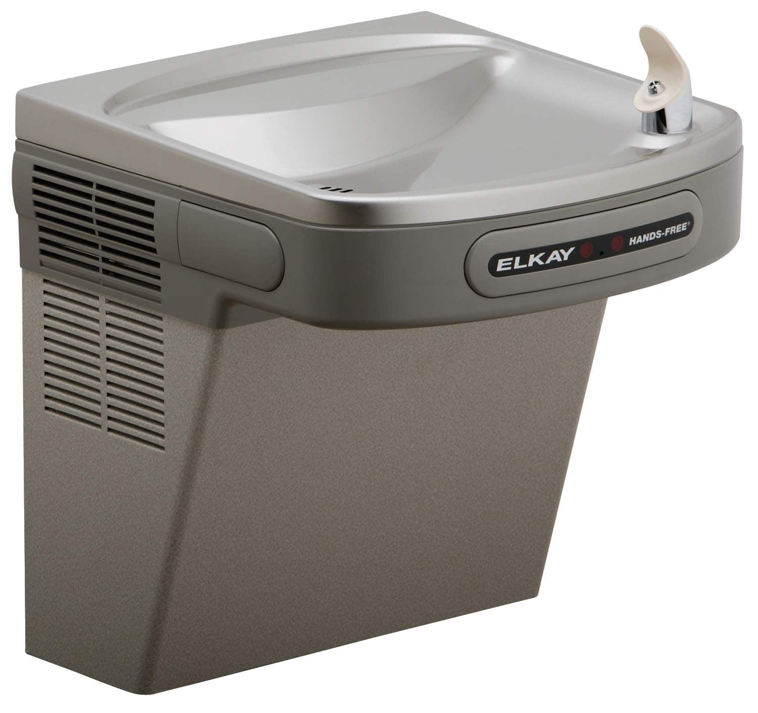 Round Stainless Steel Wall Mounted Drinking Fountain - Murdock |Drinking Fountain