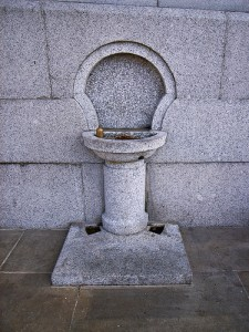 Custom Stone Drinking Fountain