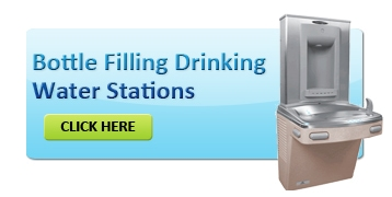 Indoor bottle filling stations