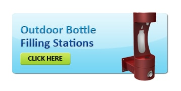 Outdoor Bottle Filling Drinking Water Stations
