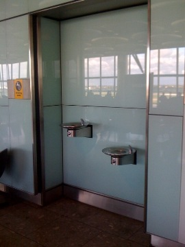 Are Water Fountains In Airports Safe To Drink