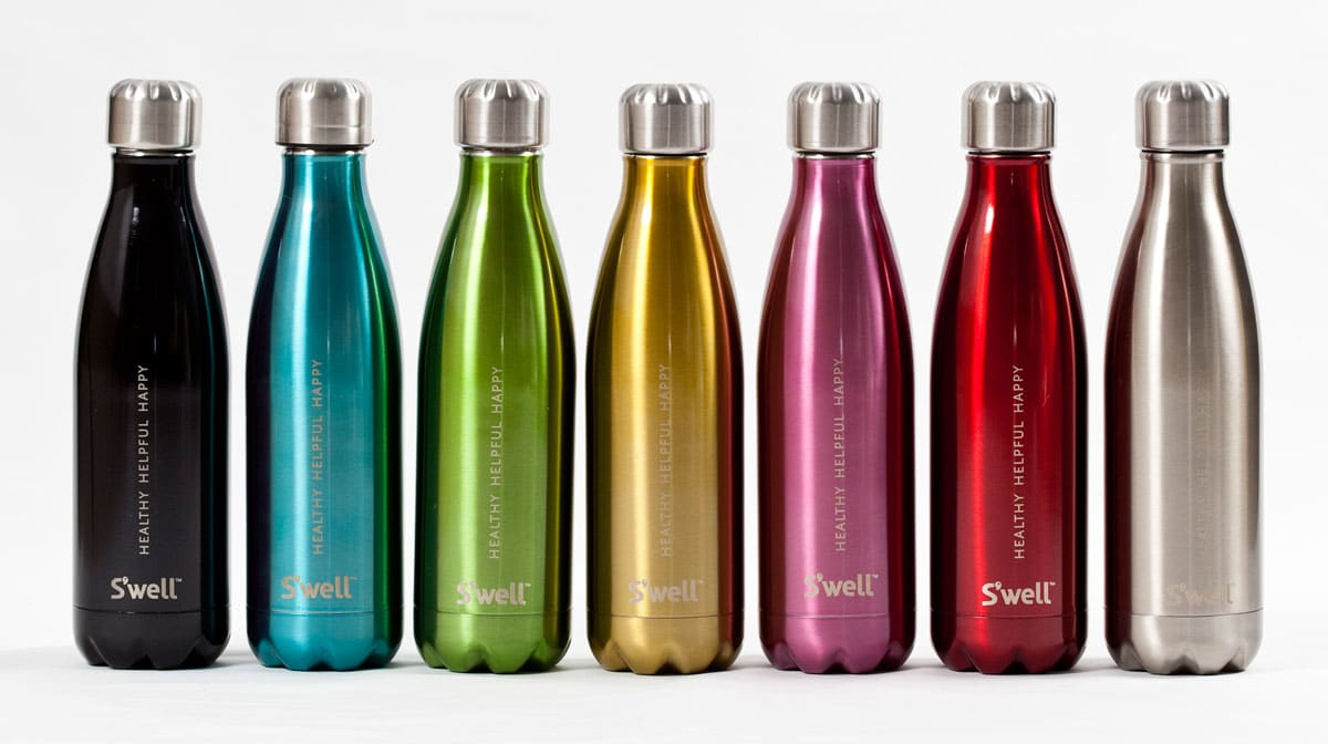 how to clean stainless steel water bottle