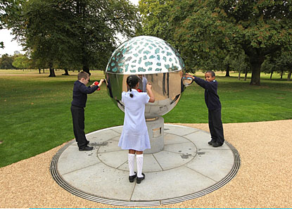 The fancy new drinking fountain in London's Hyde Park