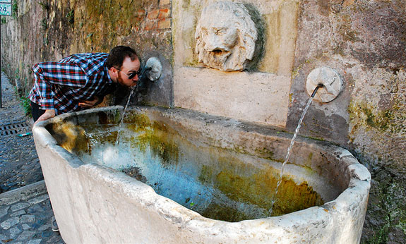 rome-drinking-fountain